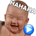 WAstickerApps Babies Funny Faces with Phrases