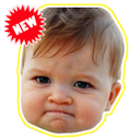 WAstickerApps Emojis Babies Funny Faces Memes