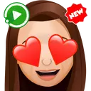 WAstickerApps New Animated Emojis 3D Stickers
