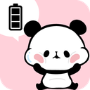 Battery Saver Mochimochi Panda Battery Widget