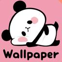 Wallpaper MOCHI MOCHI PANDA
