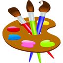 دفتر نقاشی کودکانه