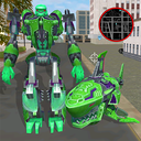 Robot Shark Attack: Transform Robot Shark Games