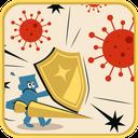 بازی مقابله با ویروس