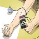 اعتیادسنج موبایل