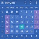 Calendar Widget: Month + Agenda
