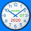3D Analog Clock Live Wallpaper-7