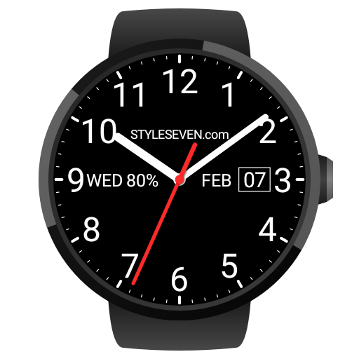 Analog Watch Face-7 for Wear OS by Google