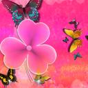 Theme Cute Pink GO Launcher EX