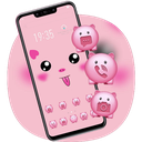 Hand drawing Cute Pig Diy theme Galaxy J2