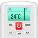 Remote for Air Conditioner (AC)