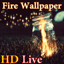HD Fire Live Wallpaper