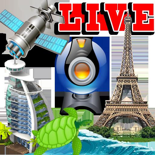 دانلودبرنامه ی پولی پخش زنده مناظر دنیا، فضا و آب