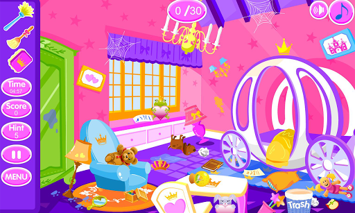 Princess room cleanup