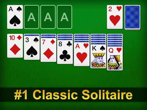 Solitaire - عکس بازی موبایلی اندروید