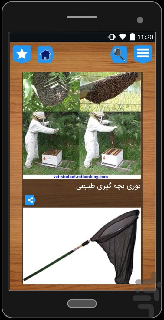 نرم افزار اندروید زنبور عسل