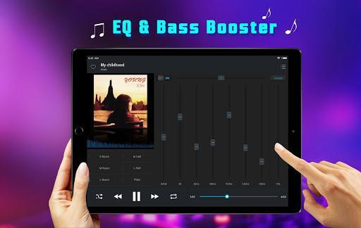 Equalizer Music Player and Video Player - عکس برنامه موبایلی اندروید