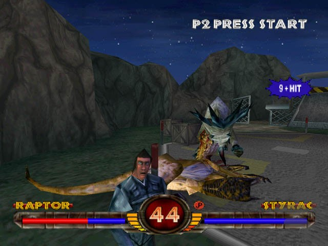 Warpath Jurassic Park HD ps1