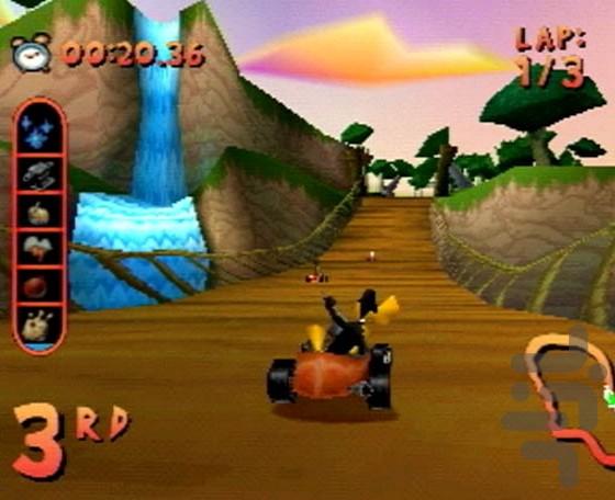 looney tunes racing psx