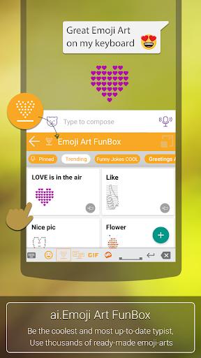 Aitype Free Emoji Keyboard