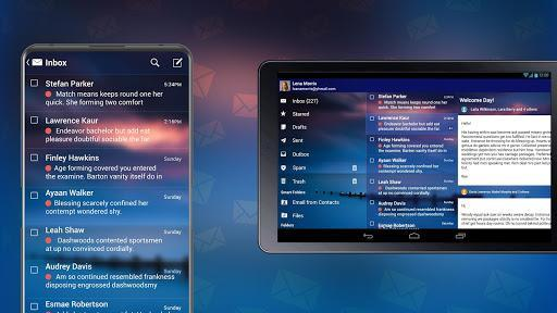 Email: Mail All in One, Free Mailbox, Secure Inbox - Image screenshot of android app