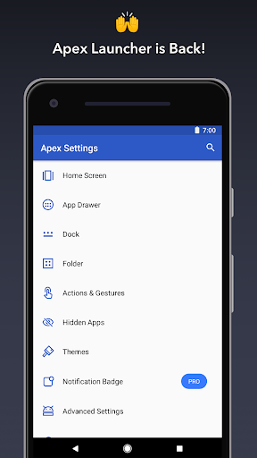 Apex Launcher - Customize, Secure, and Efficient