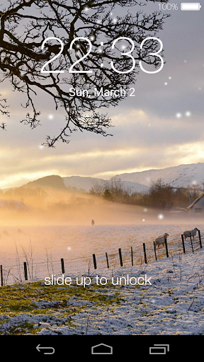 Lock screen live wallpaper for Android. Lock screen free download ...