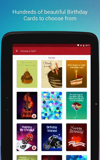 Free Birthday Cards Download Install Android Apps Cafe Bazaar