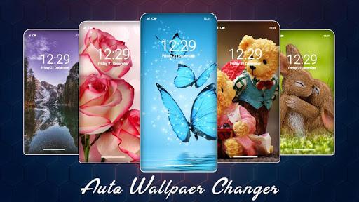 برنامه Auto Wallpaper Changer Background Changer دانلود کافه بازار