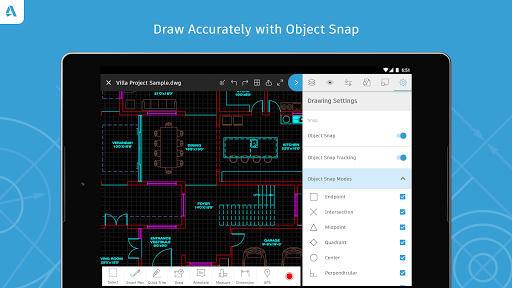 Autocad dwg viewer editor download install android Online cad editor