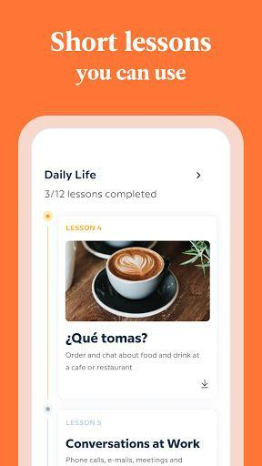 Babbel - Learn Languages - Spanish, French & More - Image screenshot of android app