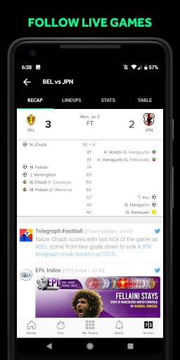 Bleacher Report: sports news, scores, & highlights for Android