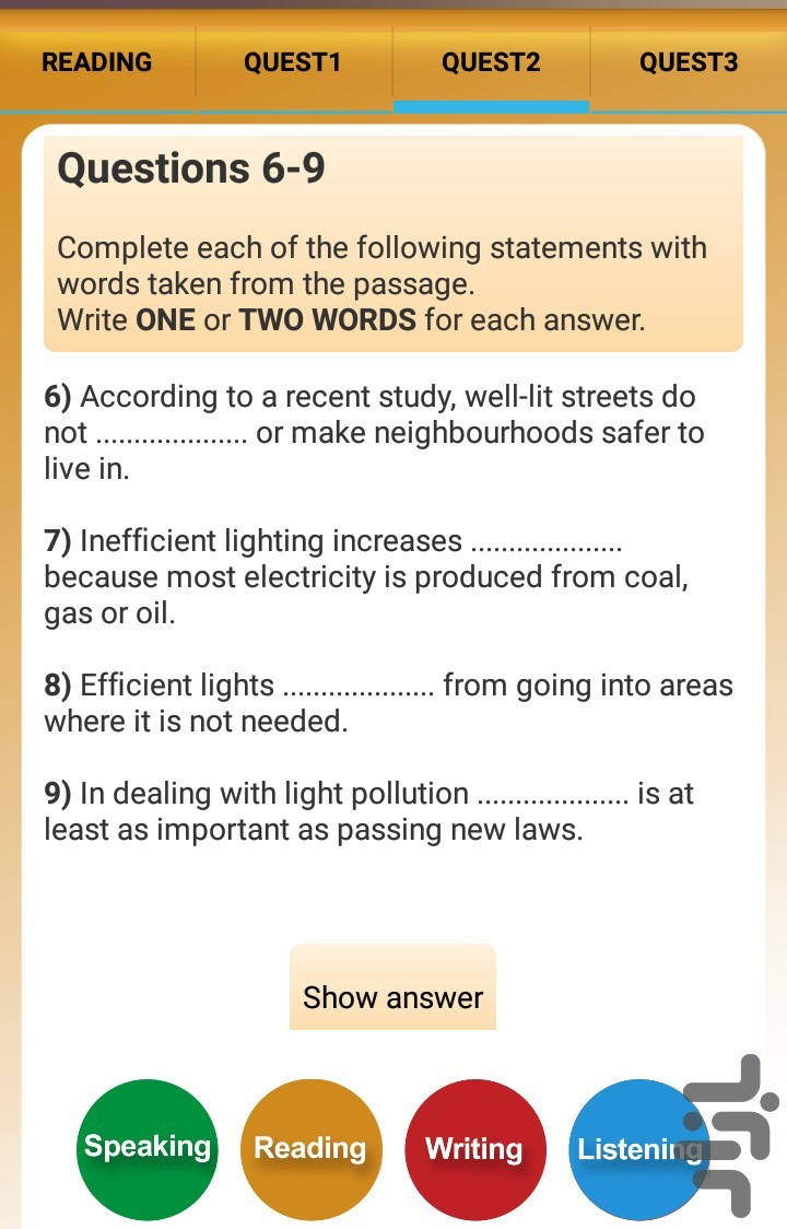 Ielts Advance Download Install Android Apps Cafe Bazaar Electricity Is Produced From Coal Academic Writing Task 1