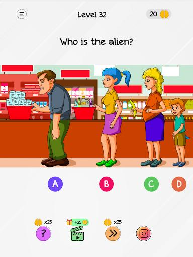 Braindom: Tricky Brain Teasers, Test, Riddle Games - عکس بازی موبایلی اندروید