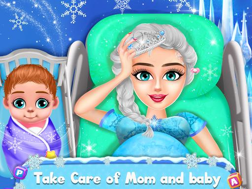 Ice Princess Pregnant Mom and Baby Care Games - عکس بازی موبایلی اندروید