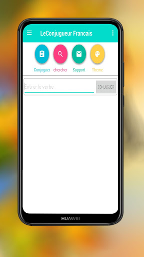 Le Conjugueur Francais La Conjugaison Des Verbes For Android Download Cafe Bazaar
