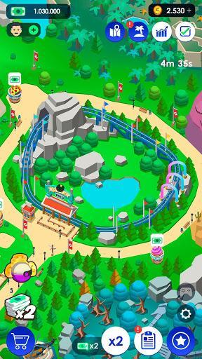 Idle Theme Park Tycoon - Recreation Game - عکس بازی موبایلی اندروید