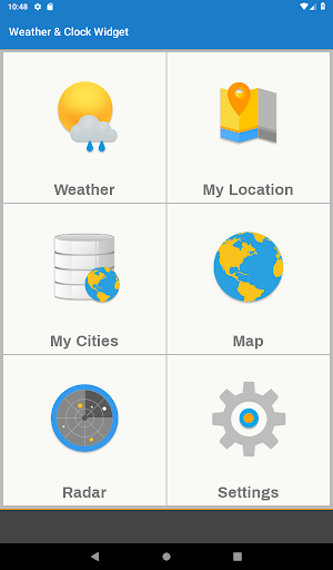 Weather & Clock Widget for Android for Android - Download | Cafe Bazaar