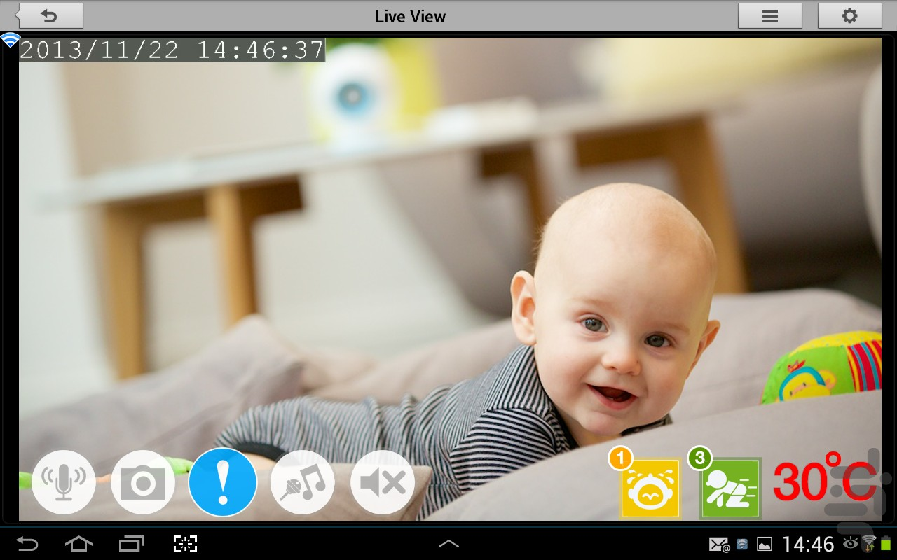mydlink Baby Camera Monitor
