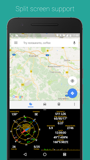 GPS Status screenshot