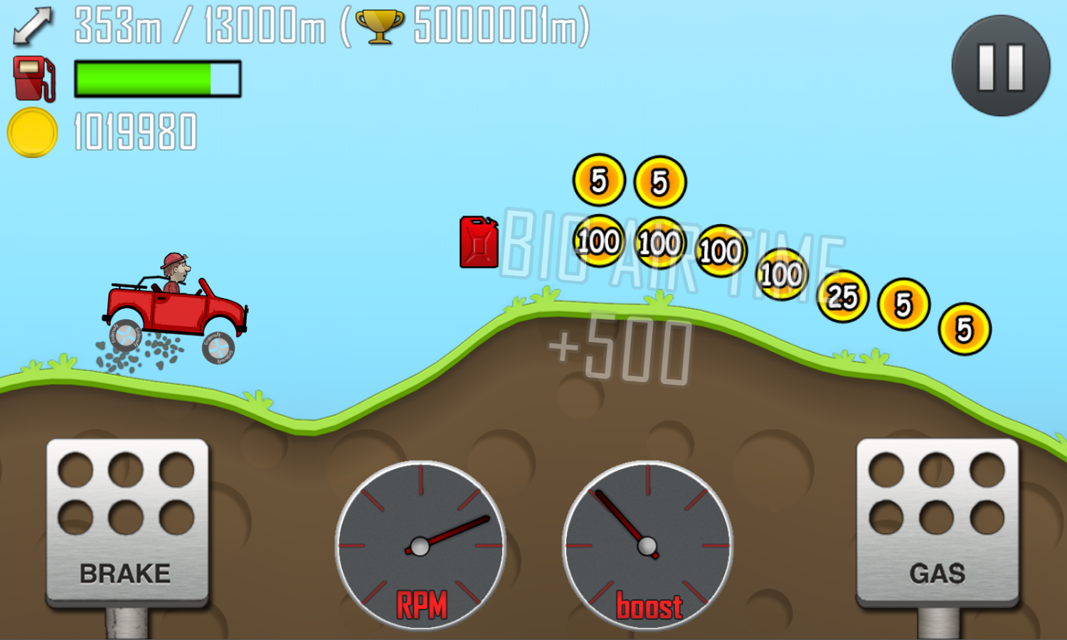 Hill Climb Racing screenshot