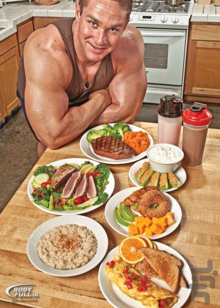Правильное питание для набора мышечной массы для