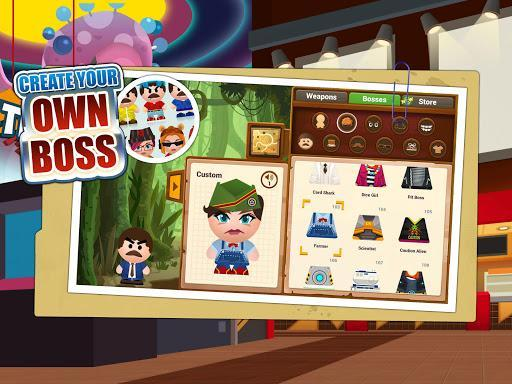 Beat the Boss 4: Stress-Relief Game. Hit the buddy - عکس بازی موبایلی اندروید