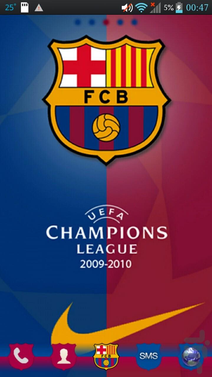 تم بارسلونا برای اندروید
