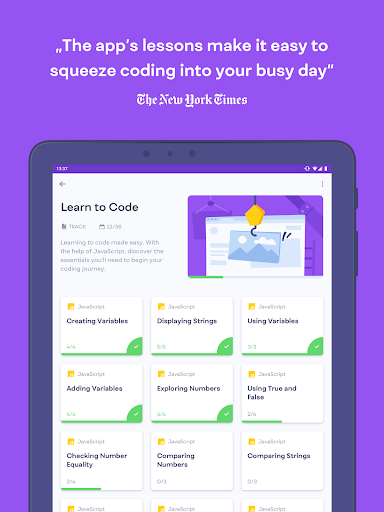 Mimo: Learn to Code for Android - Download | Cafe Bazaar