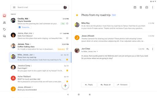 دانلود رایگان آخرین نسخه برنامه رسمی جی میل Gmail