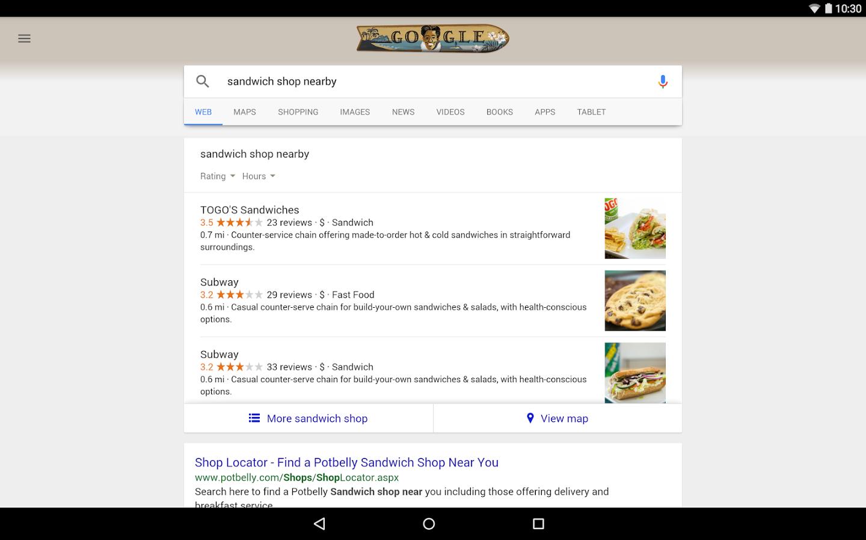 Google Quick Search Box (APK) - Free Download