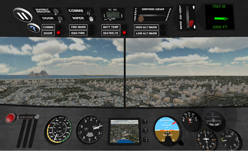 Airplane Pilot Simulator 3D Game for Android - Download | Cafe Bazaar
