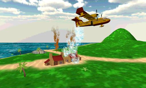 Fire Plane - Gameplay image of android game