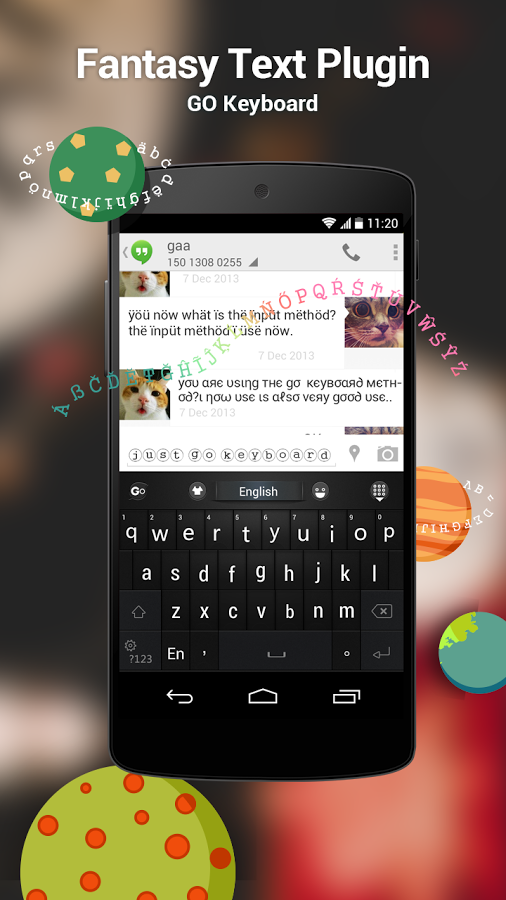 GO Keyboard Fantasy Text Plugin for Android - Download | Cafe Bazaar